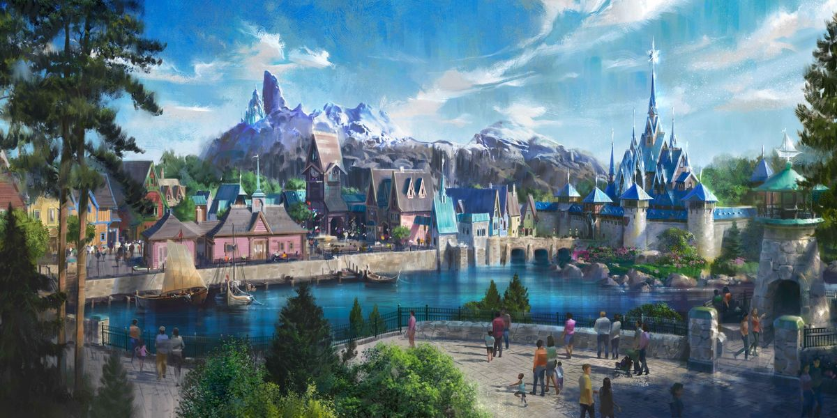 Disneyland Is Opening a 'Frozen'-Themed Land Complete With Elsa's Castle