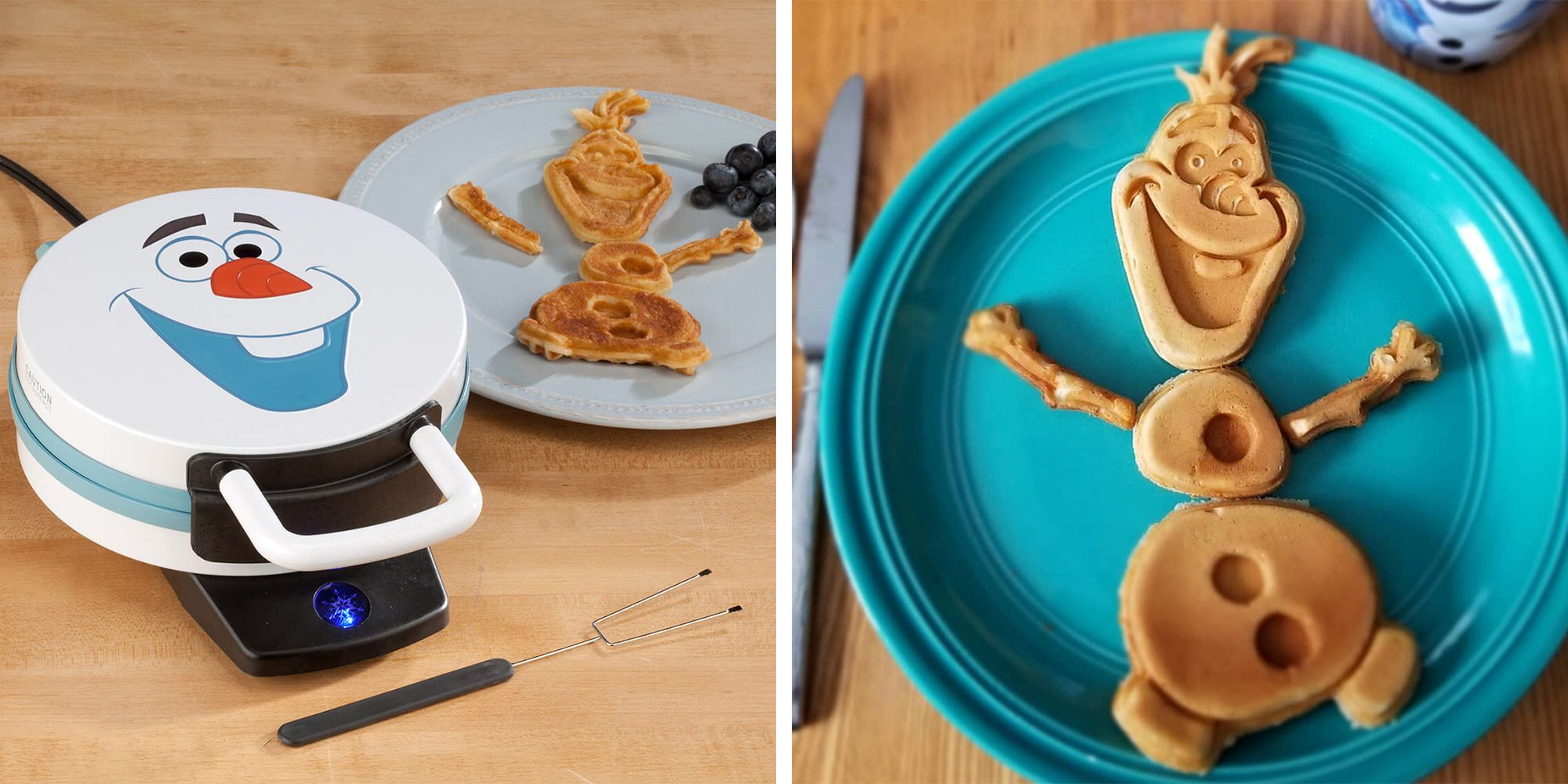Kids Will Love This 'Frozen' Olaf Waffle Maker