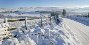 Met Office Issues Heavy Snow Weather Warnings