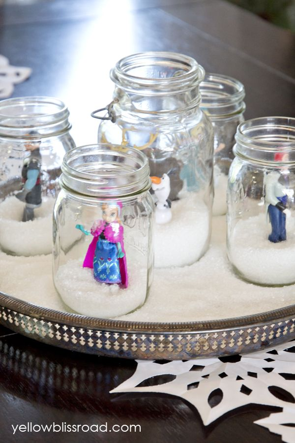 frozen disney christmas centerpieces
