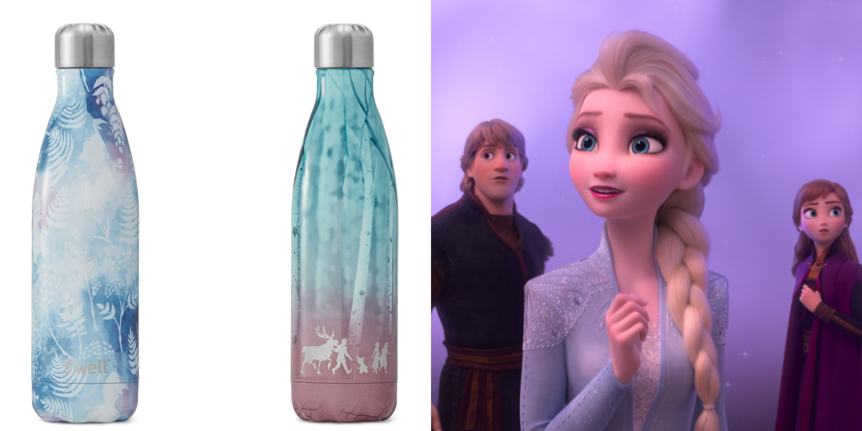 S'well's 'Frozen 2' Collection Features Anna And Elsa Water Bottles