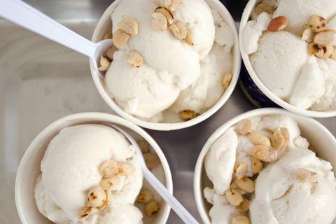 frozen yogurt vs coconut milk ice cream nutrition
