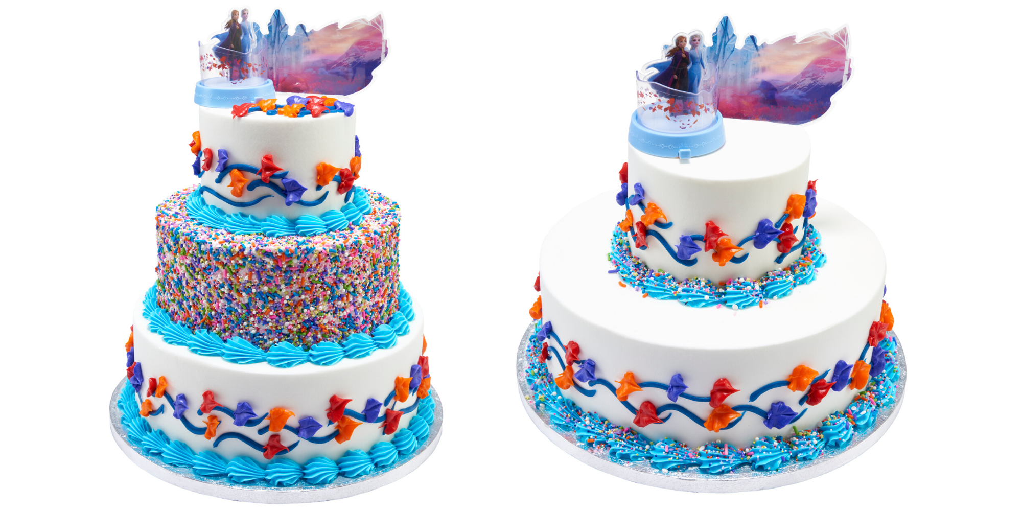 Superb Sams Club Is Selling 3 Tier Frozen 2 Cakes That Feed 66 People Funny Birthday Cards Online Alyptdamsfinfo