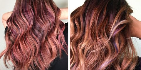 Fruit Juice Is Springs Biggest Hair Color Trend