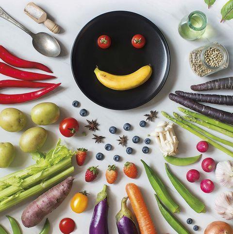 Alimentos sanos: Fruta y verdura