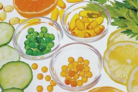 vitaminas y frutas