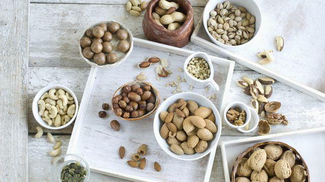 los frutos secos más saludables que menos engordan