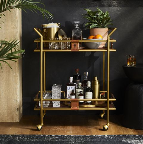 frye x crate and barrel barware collection