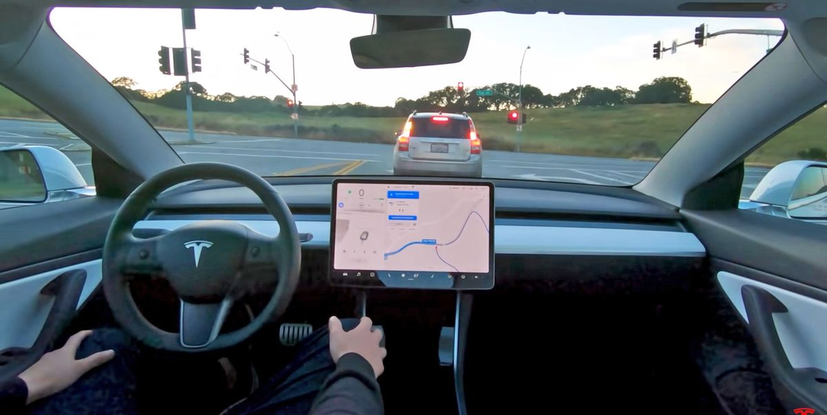 Tesla Is Now Beta-Testing 'Full Self Driving' in Real-World Traffic