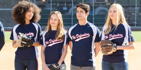 T-shirt, Softball, Baseball, Sports uniform, Team sport, Uniform, Team, College softball, Jersey,