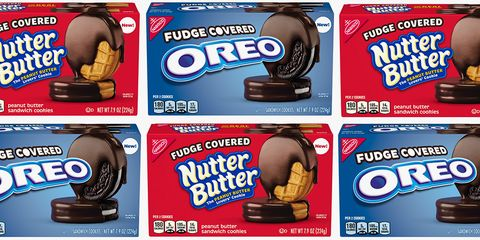 Oreo, Snack, Cookie, Cookies and crackers, Food, Baked goods, Dessert, Finger food, Chocolate, Confectionery,