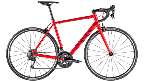red roadbike