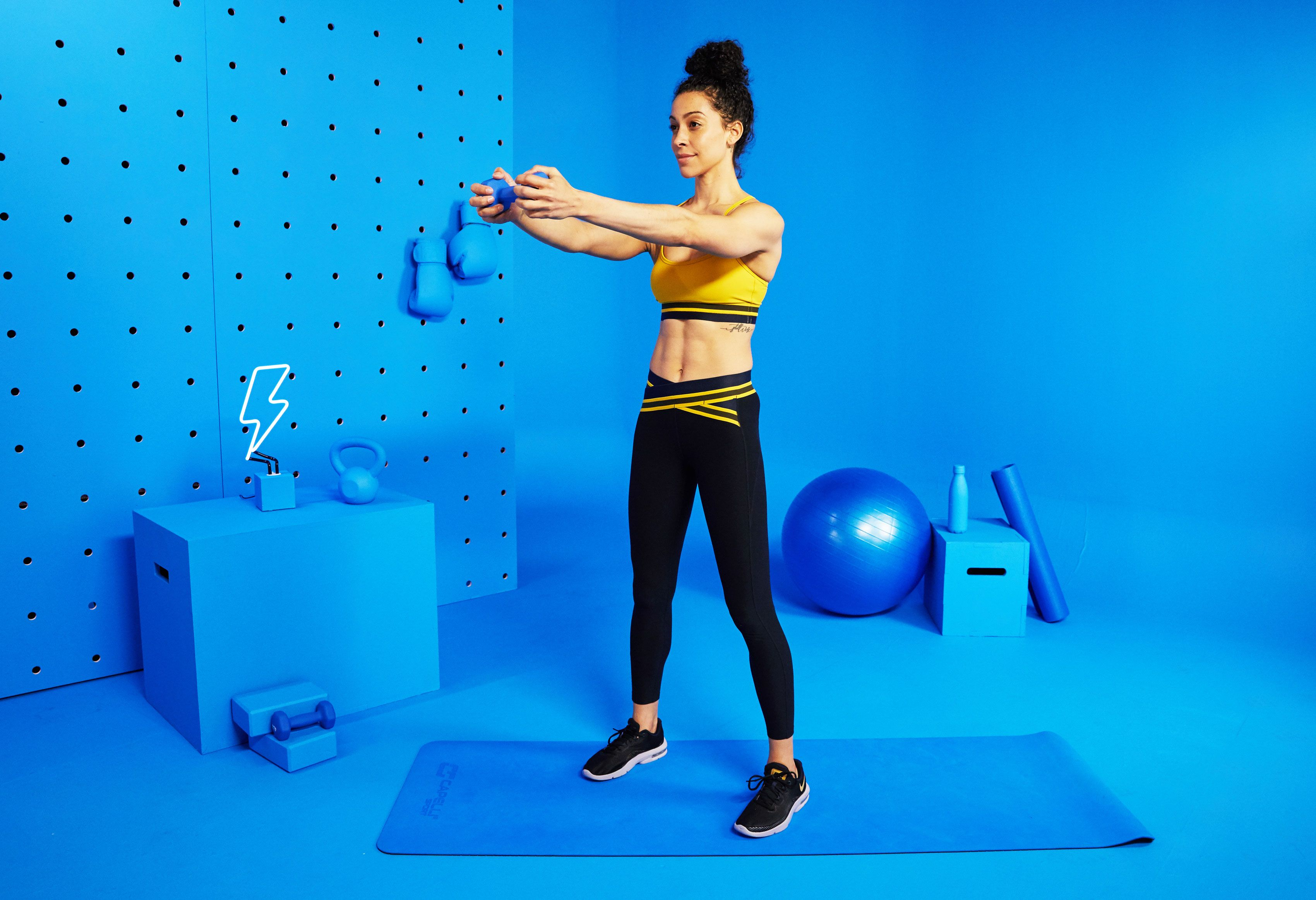 The 14-Minute Full-Body Workout You Can Do At Home