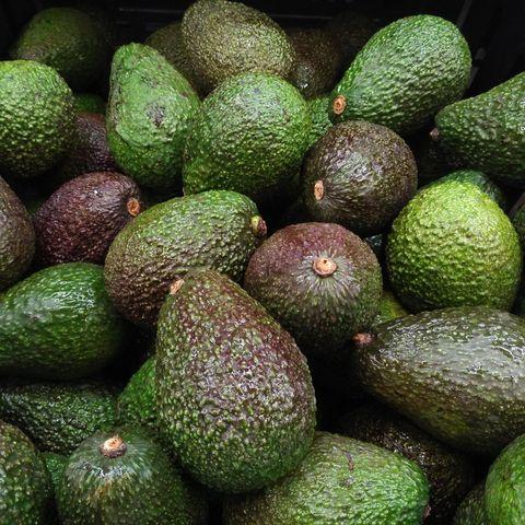 Full Frame Shot Of Avocados