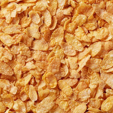 Full Frame Shot Of Cornflakes