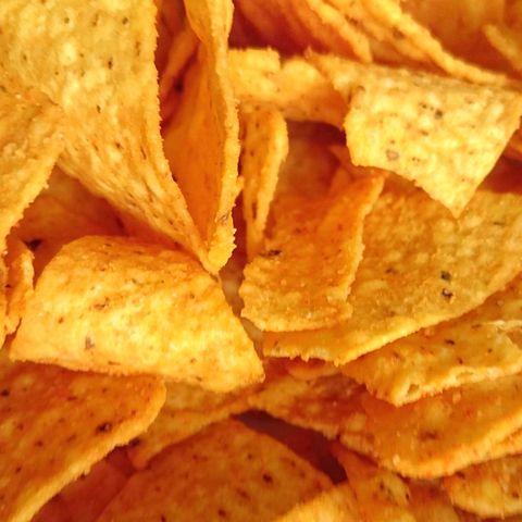 Full Frame Shot Of Nacho Chips