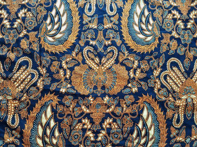 full frame shot of traditional patterned batik