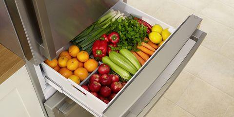 full fresh fridge