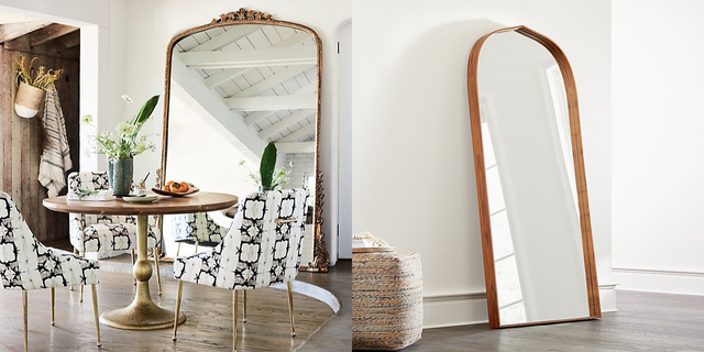 Large Standing And Floor Mirrors, Ikea Long Length Mirror