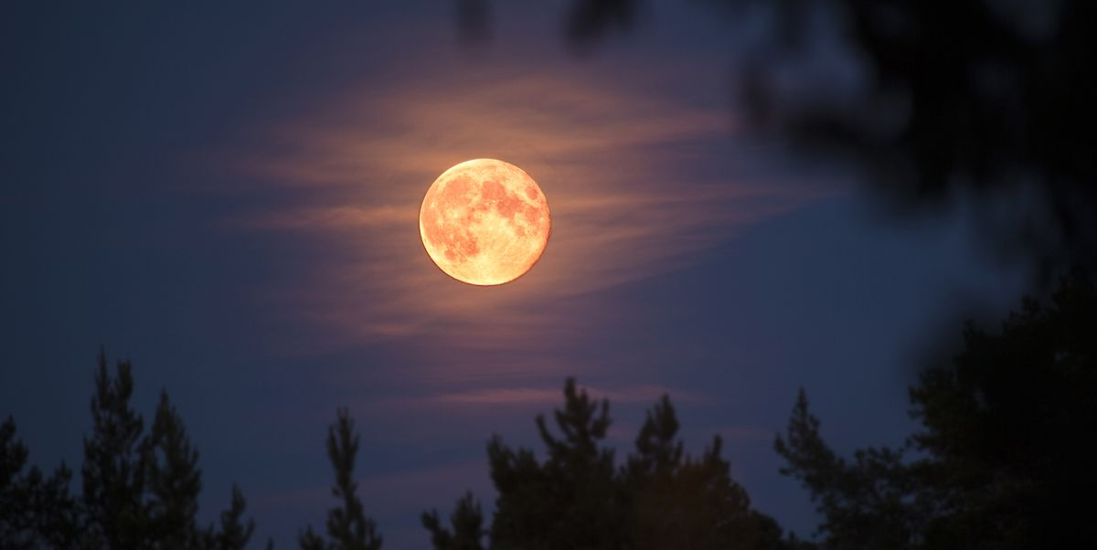 April S Super Pink Moon When To See The Biggest Supermoon