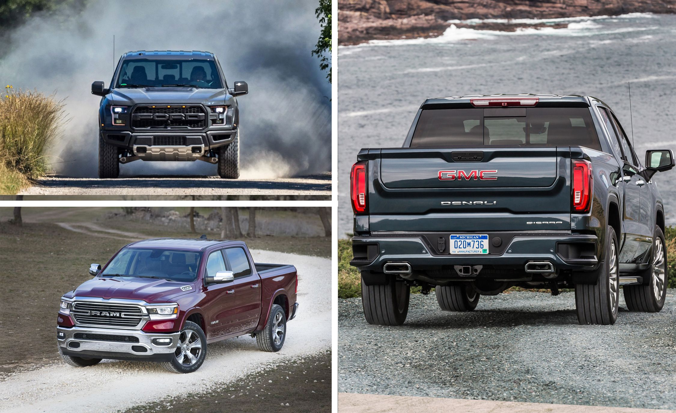 7 full size pickup trucks ranked from best to worst