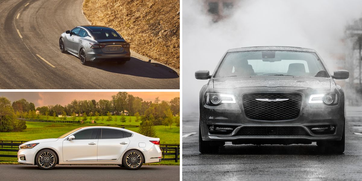 Full-Size Sedans Ranked: See Which Large Cars Live Largest