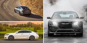full-size sedans ranked