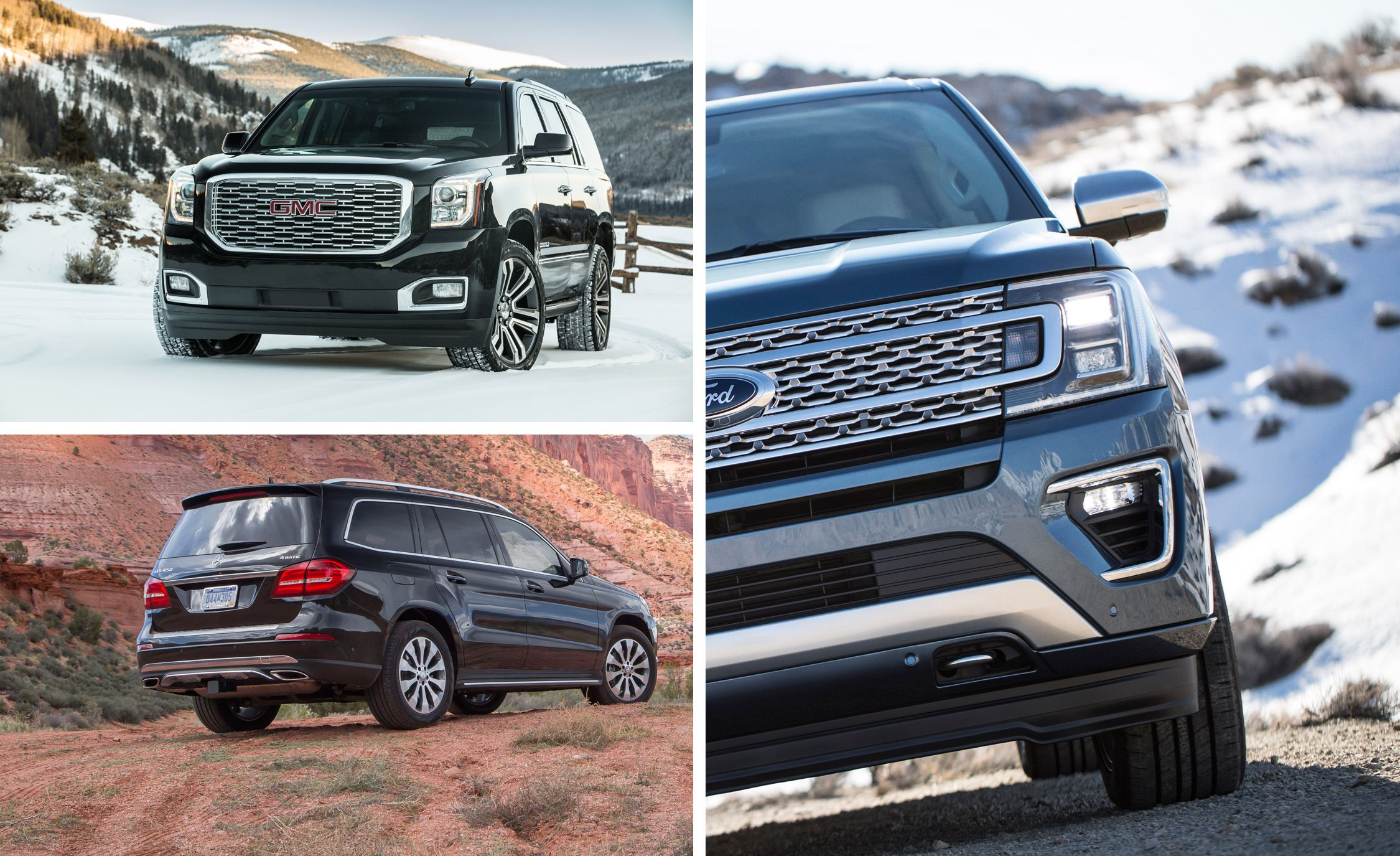 Every Full Size Suv Ranked From Worst To Best