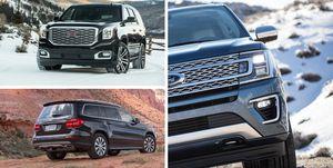 full-size SUV rankings