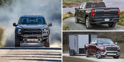 Full Size Pickup Truck Rankings
