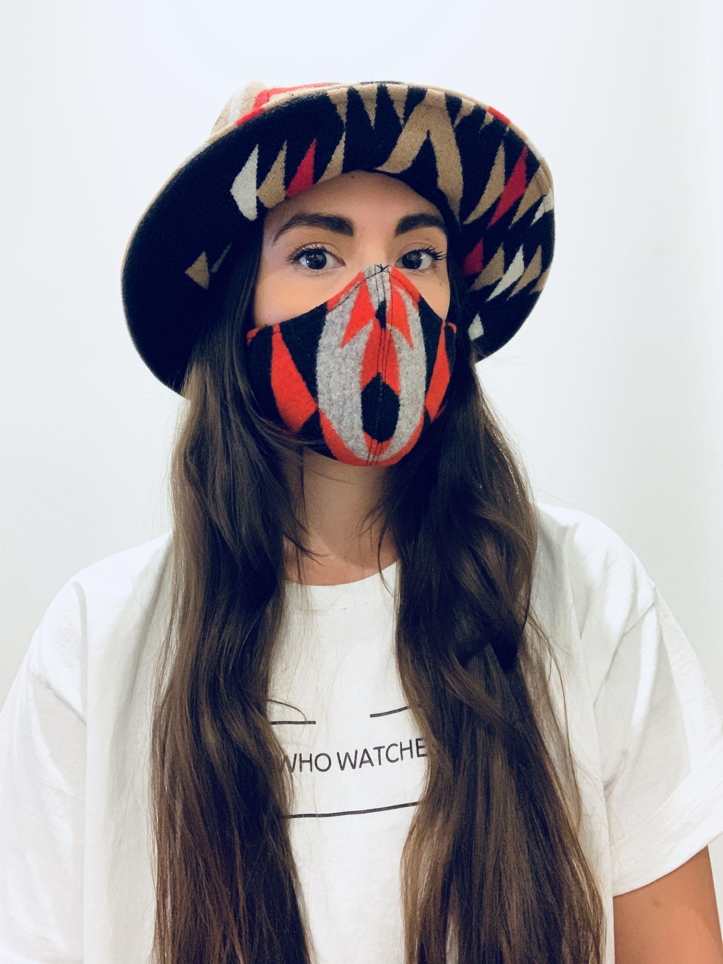 Indigenous Designer Korina Emmerich Uses Face Masks To Fight Injustice