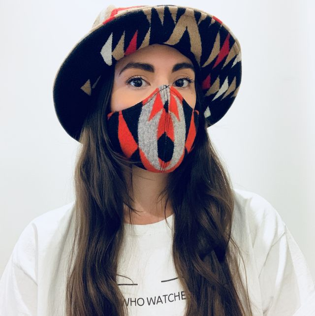 Indigenous Designer Korina Emmerich Uses Face Masks to Fight Injustice