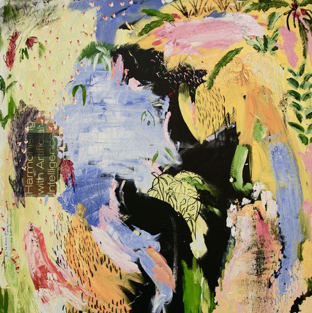 Painting, Art, Illustration, Acrylic paint, Modern art, Watercolor paint, World, Visual arts, Paint, Pattern,