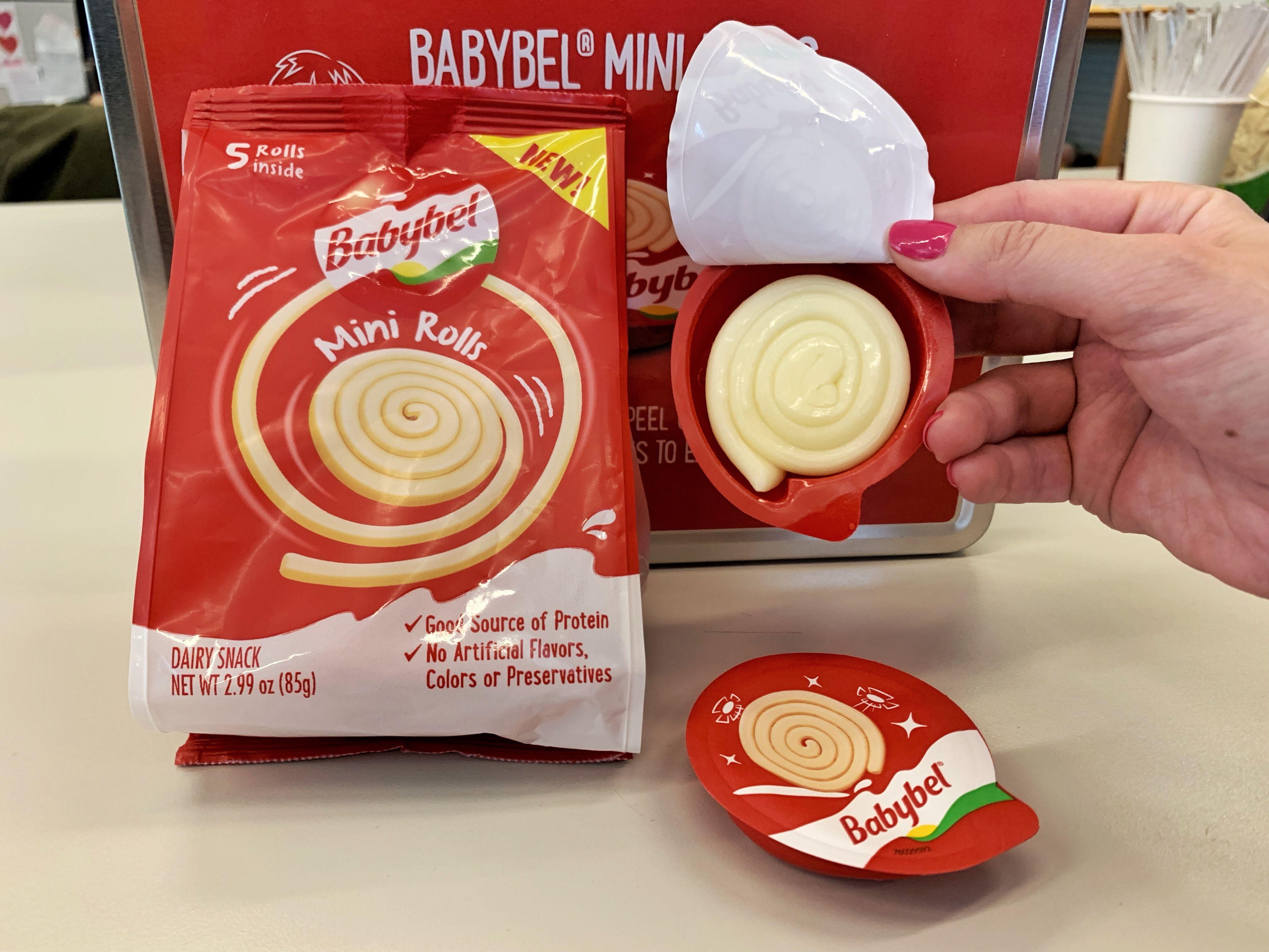 Babybel's New Mini Rolls Cheese Snacks