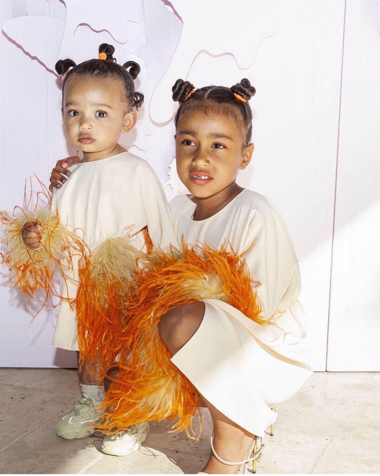 Photos Of North West And Chicago West At True Thompson S Birthday