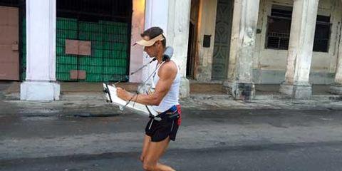 Running Artist Cuba