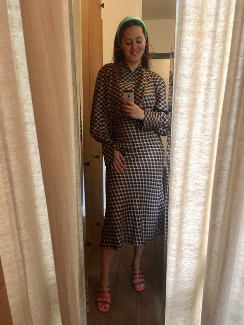 ELLE's-OOTD-ruit-jurk