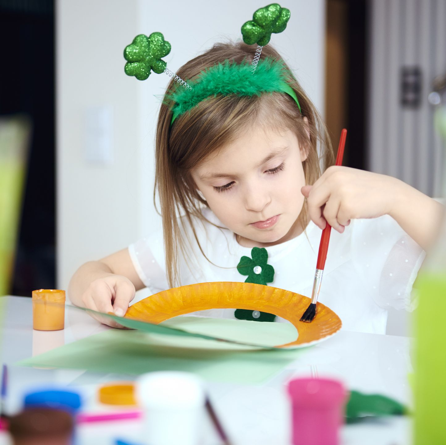 Fun St. Patrick's Day Activities Children Crafts Painting