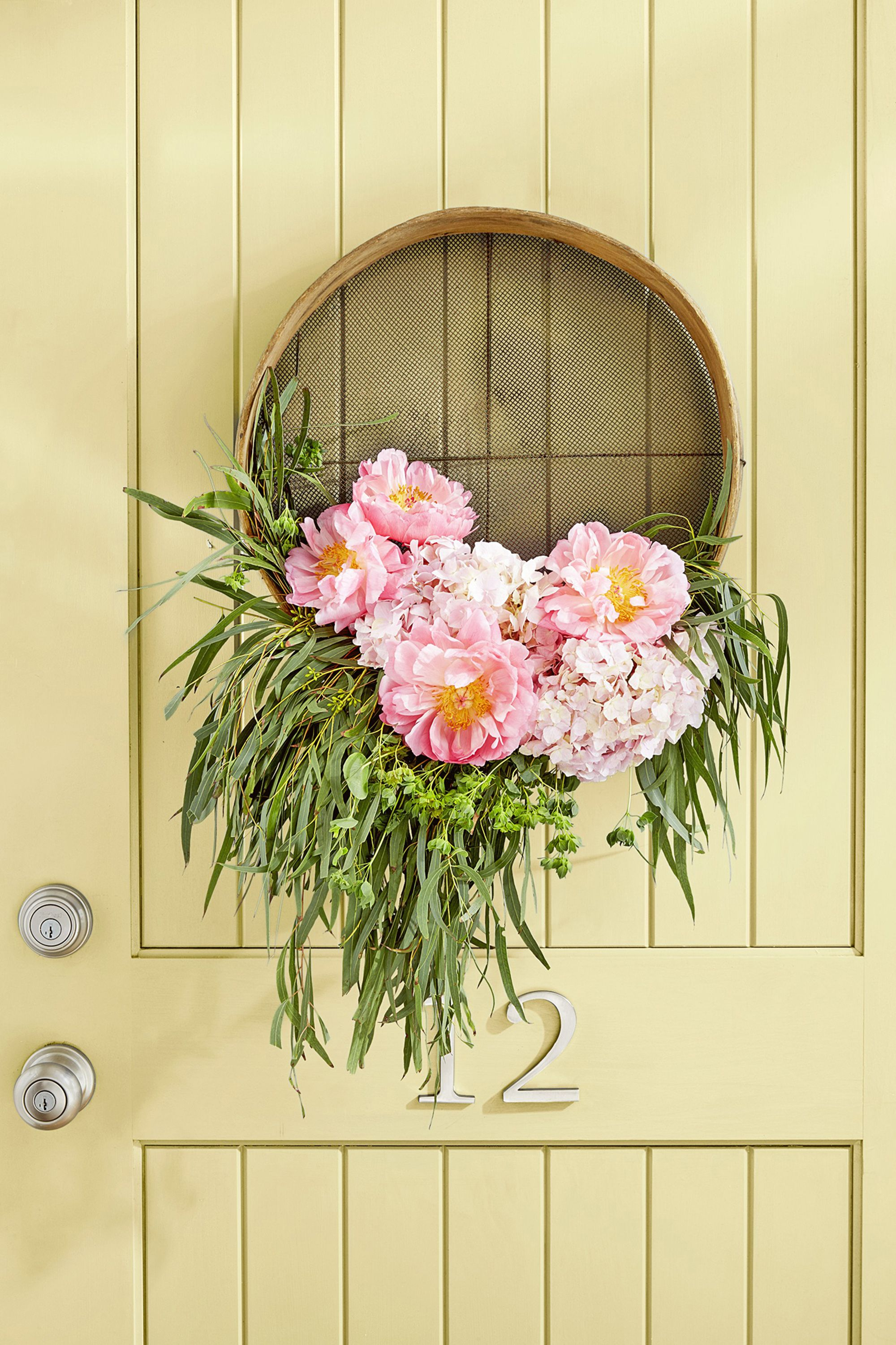 fun summer crafts door