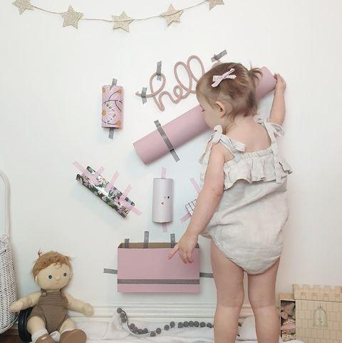 Fun Toddler Activities - Pom Pom Drop