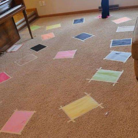 Fun Toddler Activities - The Floor Is Lava