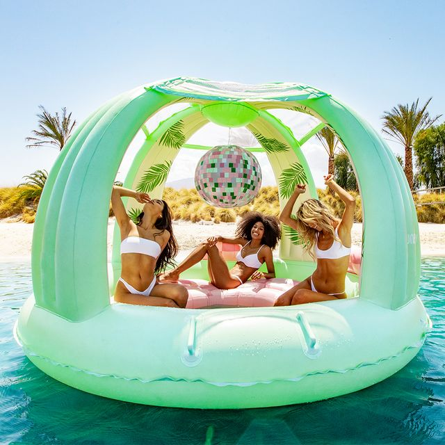 funboy inflatable disco dome pool float