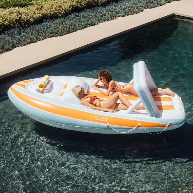 funboy mega yacht inflatable pool float