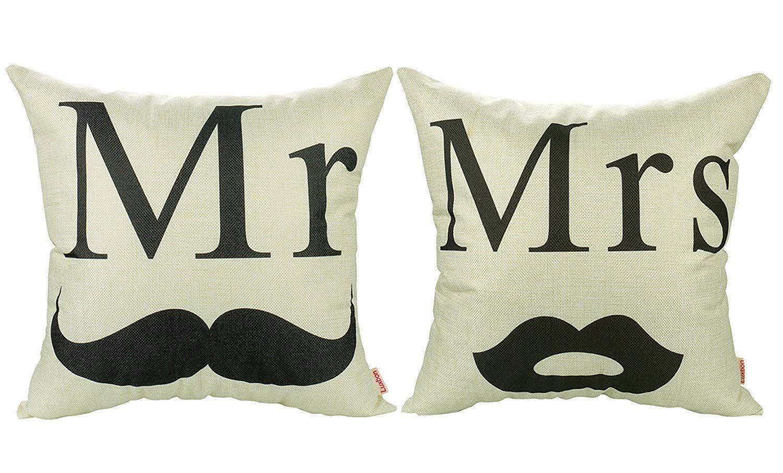 16a97c4c7aa +20 Fundas de almohadas a pares... Para parejas muy enamoradas