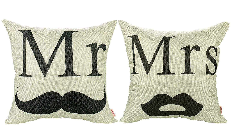 Fundas de almohadas para parejas