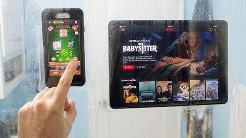 Funda de plástico para smartphones y tablets de Amazon