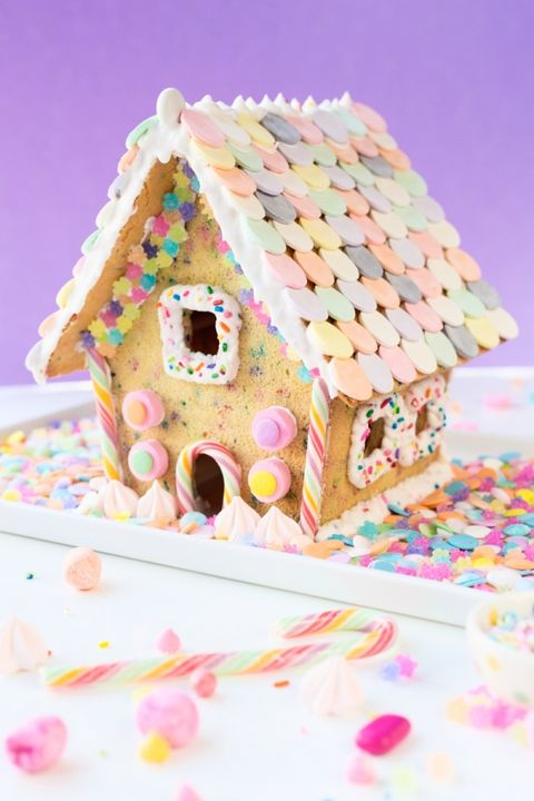 funfetti gingerbread house idea
