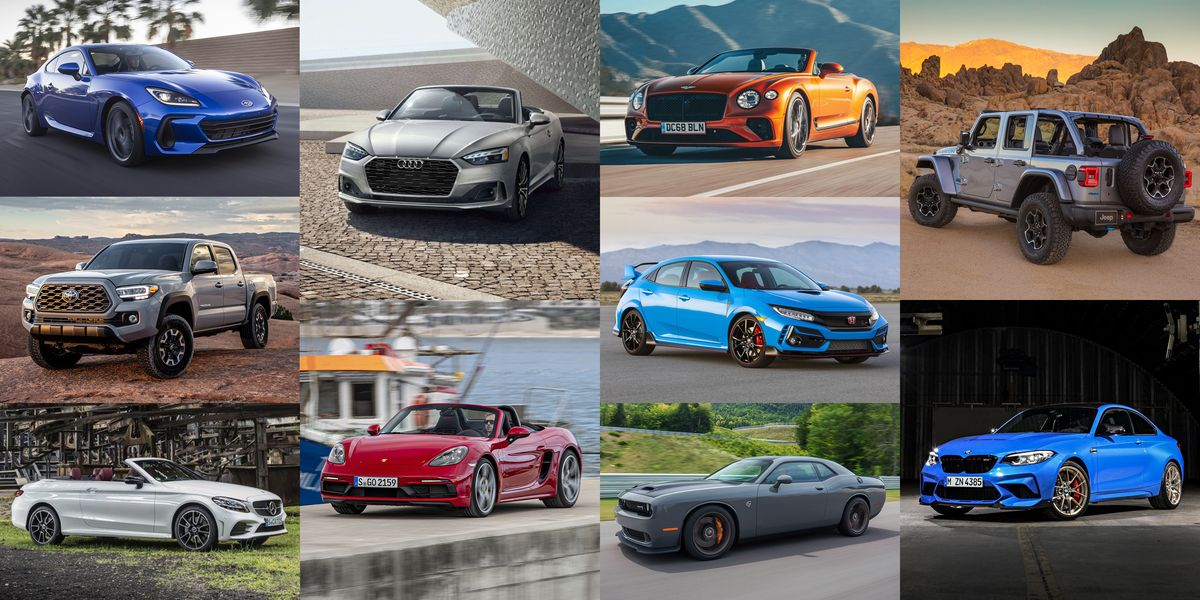 20 Cars to Have Fun in the Sun This Summer