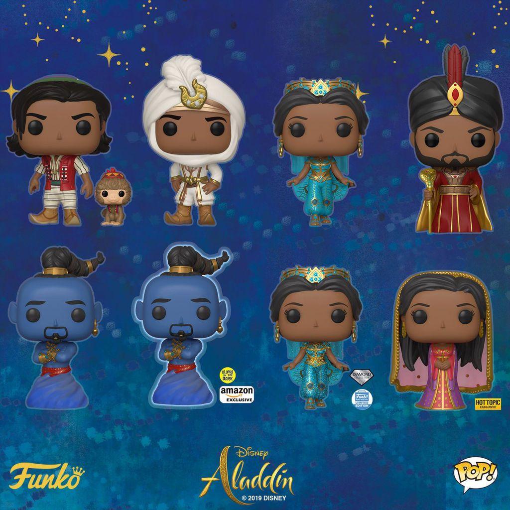 'Aladdín' ya tiene sus Funko Pop! - Funkos Disney