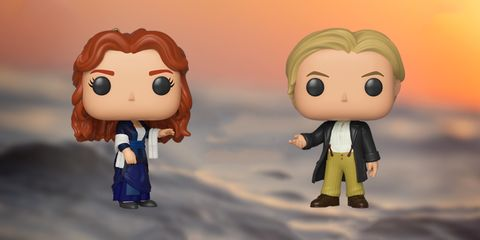 Jack y Rose en Titanic Funko Pop!
